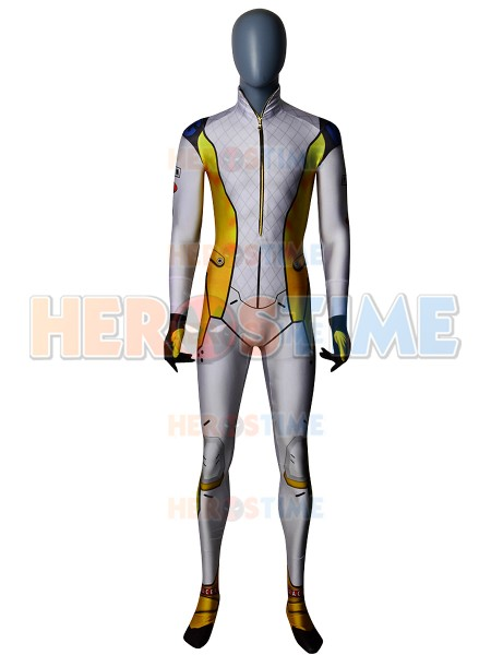 2018 Newest Style Tracer Overwatch Dyesub Cosplay Costume