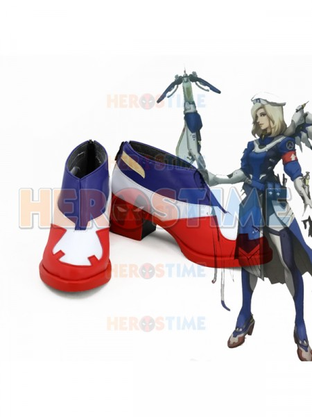 Overwatch  Botas de Mercy Skin Cosplay
