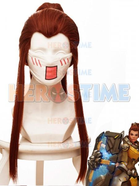 Overwatch Brigitte Lindholm Superhero Wig