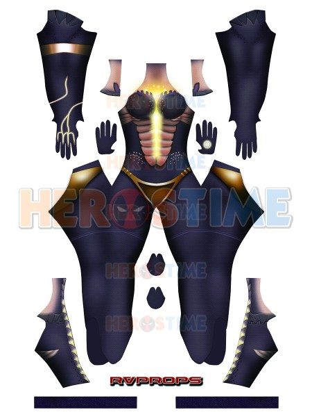Symmetra Dragon Costume Overwatch Symmetra Cosplay Costume