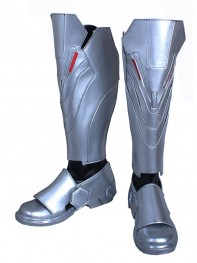 Overwatch Reaper Video Game Cosplay Boots