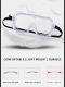 Protective Goggles Dust-Proof Goggles UV-Proof Lens Fog-Free Length-Adjustable