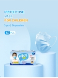 Kids Disposable Mask 3 Layers Dust-Proof Droplet-Proof Mask