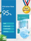 Disposable Medical Mask ≥95% Filtration 10 PCS