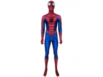 Classic Spider-Man Suit With Puff Paint Webbing & Leather Spider
