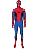 Spider-Man Homecoming Costume With Puff Paint Webbing