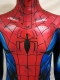 Ultimate Spiderman Suit With Puff Paint Webbing & Leather Spider