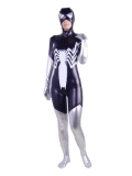 Black Venom Shiny Metallic Costume