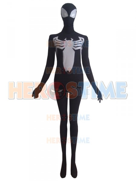 Black Venom Symbiote Super Villain Costume