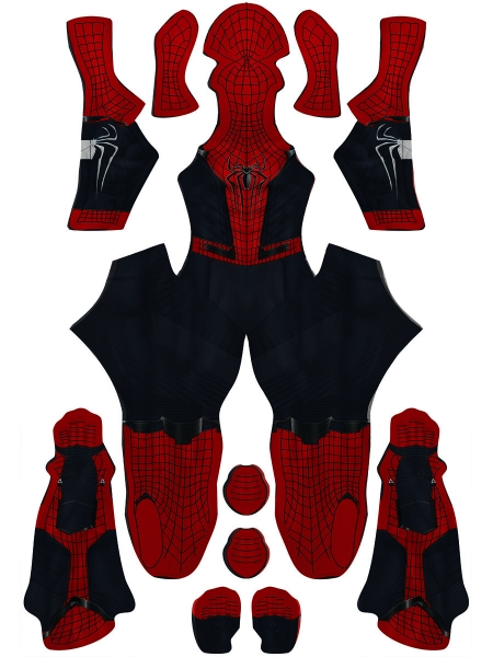Spiderman Costume Far From Home Amazing Spider-man 2 Hybrid Suit