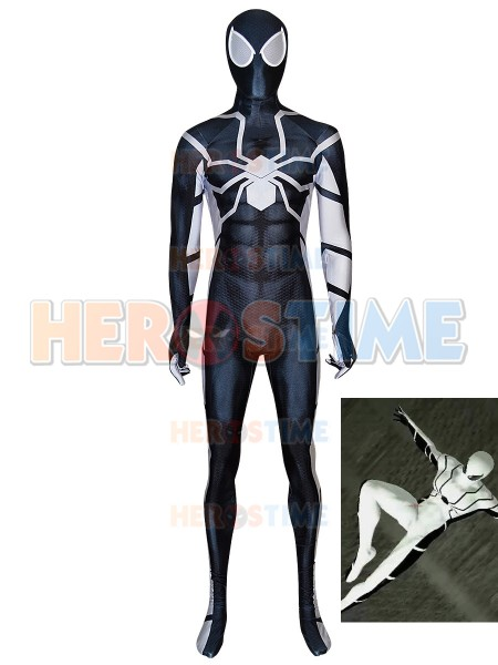 Stealth Future Fundation Spider-Man Costume Halloween Costume