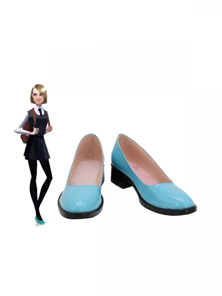 Spider-Man Into the Spider-Verse Zapatos de cosplay de Gwen Stacy