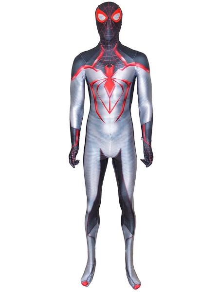 Miles Morales T.R.A.C.K Costume Newest Miles Morales Videogame Suit