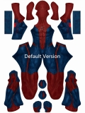 PS4 the Amazing Spider-Man Disfraz de Cosplay PS4 Spider-Man