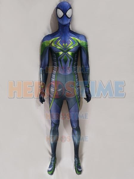 Spider-Man: Miles Morales Purple Reign Suit Disfraz de Spider-Man