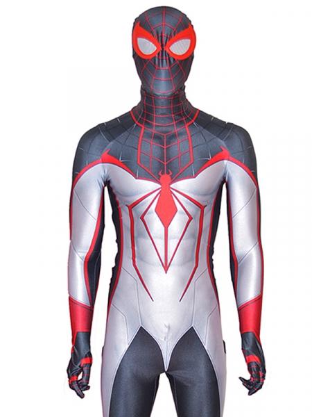 Disfraz de Spider-Man Miles Morales T.R.A.C.K