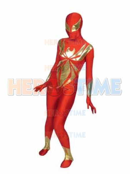 Iron Spider Armor Spandex Superhero Costume