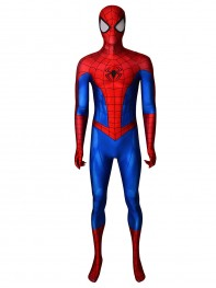 Spiderman Costume PS4 Classic Spider-Man Cosplay Suit