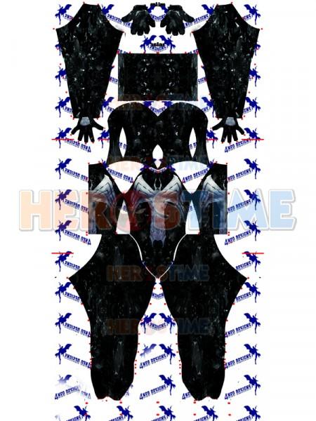 The Amazing Spider-man Traje de Venom V3 de Spandex