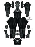 Raimi Symbiote Spider-Man Costume Black Spider-Man Costume