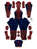 Spider-Man Costume Sam Raimi Tobey Maguire Spider-Man Costume