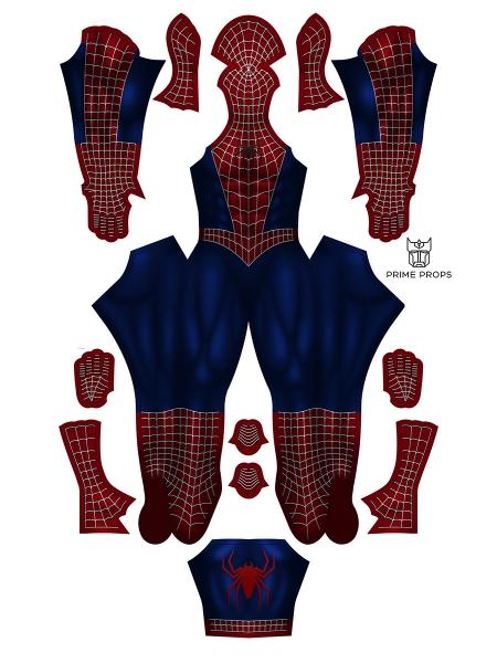 Disfraz de Spider-Man Sam Raimi Tobey Maguire Disfraz de Spider-Man