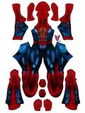Amazing Spider Armour MK IV Cosplay Costume