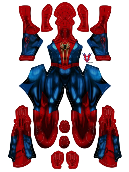 Amazing Spider Armour MK IV Cosplay Costume