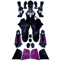 Gwenom Symbiote Gwen Stacy Suit Galaxy Look Gwen Suit
