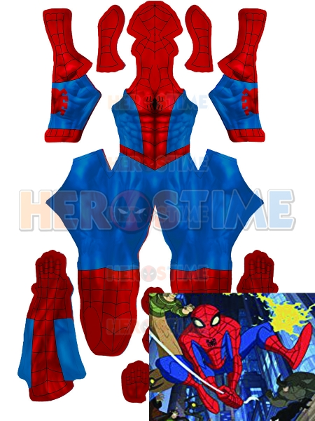 Spiderman Costume The Spectacular Spider-Man Suit