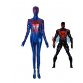 2099 Ultimate Spider-Man Muscle Jumpsuit Spiderman Cosplay Costume Halloween Cos