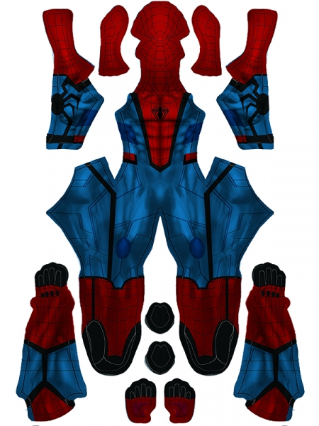 New Spider-man Suit Custom Spider-man Cosplay Costume