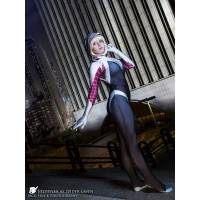 Traje de Gwen Stacy The Amazing Spider-Man Gwen Stacy Adulto y niño