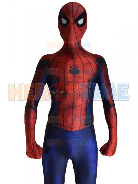 Traje de Spiderman de Civil War con Sombra 3D