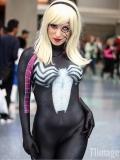 Gwenom Cosplay Costume Woman Venom Symbiote Gwen Spider Suit