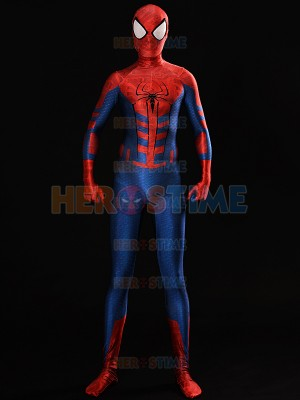 Sentinel Style Spider-Man Costume Dye-sub Spiderman Cosplay Suit