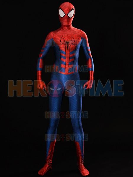 Traje de Spider-Man de Estilo Centinela  Traje de Spiderman  Tinte dyeing