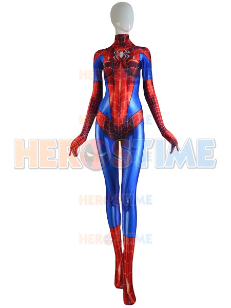 MJ Jamie Spider Costume Mary Jane Girl Cosplay Suit on Sale