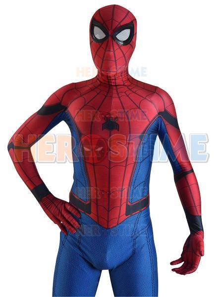 2017 New Movie Spider-Man: Homecoming Cosplay Costume
