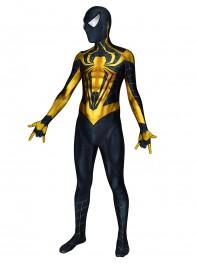 Spiderman Costume Chrome Spiderman 3D Printed Suit