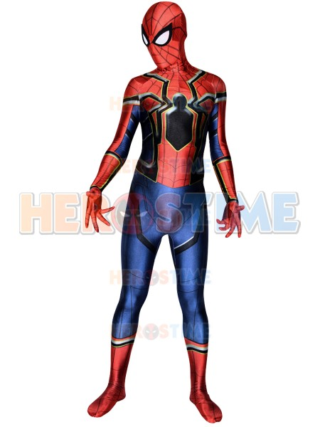 Spider-Man Homecoming  Traje de Iron Spider Cosplay
