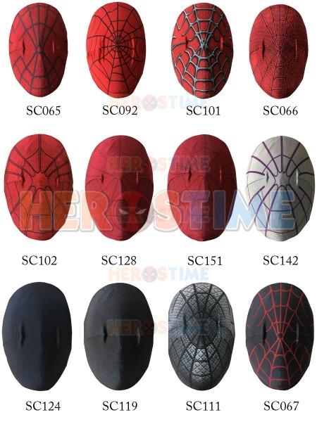 Enlace para Máscara de traje de Spider-Man solo para hacer a medida