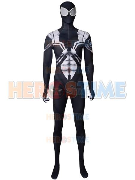 Agente Venom de la película animada de Ultimate Spider-Man  Disfraz imprimido de Cosplay
