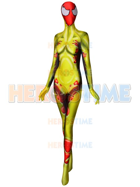 Scream Donna Diego Symbiote Spawns Supervillain Cosplay Costume