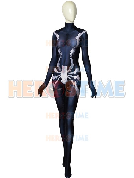 Spider-Man Costume Symbiote Mary Jane Cosplay Costume