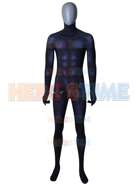Black Panther 2018 Film Version Costume No Silver No Mask