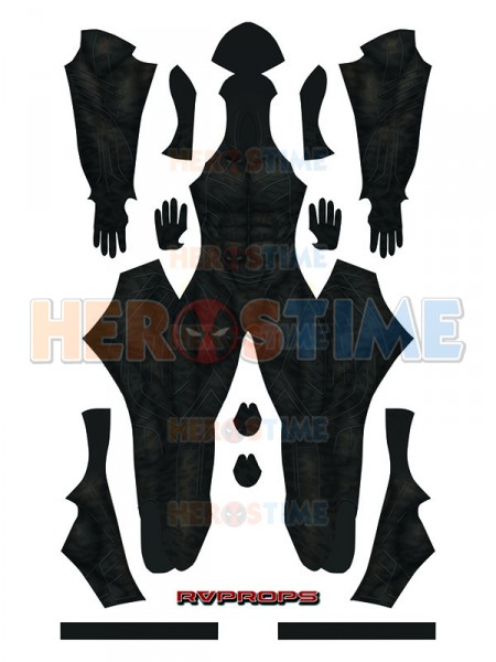 Newest Erik Killmonger Movie Version Printing Superhero Costume