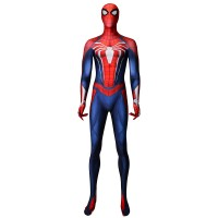 Traje de Spider-Man PS4  Disfraz de Cosplay de Spider-Man Insomniac Games