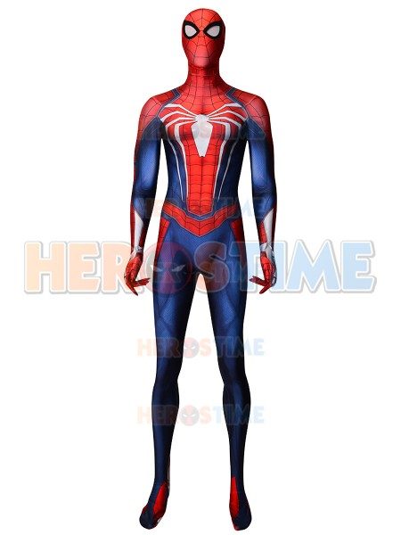 Spider-Man PS4 Costume Insomniac Games Spider-Man Cosplay Costume