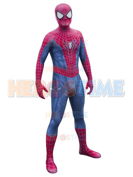 Spider-Man Costume Amazing Spider-man 2 Printing Superhero Costume